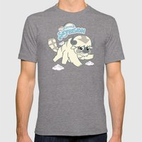 My Little Sky Bison Mens Fitted Tee Tri-Grey SMALL