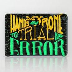 Trial and Error iPad Case