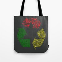 Peace, Love And Happines… Tote Bag