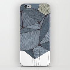 The Rock of Humanity iPhone & iPod Skin