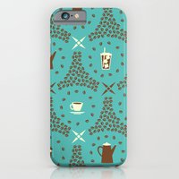 iPhone & iPod Case featuring Coffee Hour by AllisonBeilke