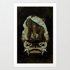 Ape Grits Art Print