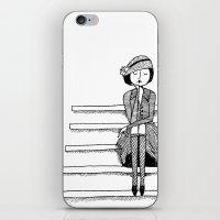 Vintage Vixen iPhone & iPod Skin