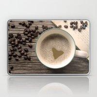 I Heart Coffee Laptop & iPad Skin