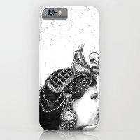 1920s Circus Queen iPhone 6 Slim Case