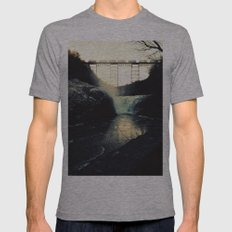trestle dusk Mens Fitted Tee Athletic Grey SMALL