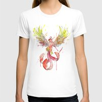 Phoenix Womens Fitted Tee White SMALL