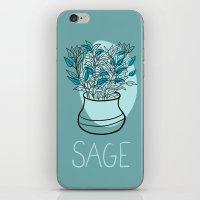Sage iPhone & iPod Skin