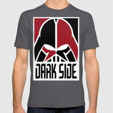 The Dark Side Mens Fitted Tee Asphalt SMALL