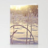 Alaskan Snowfall Stationery Cards