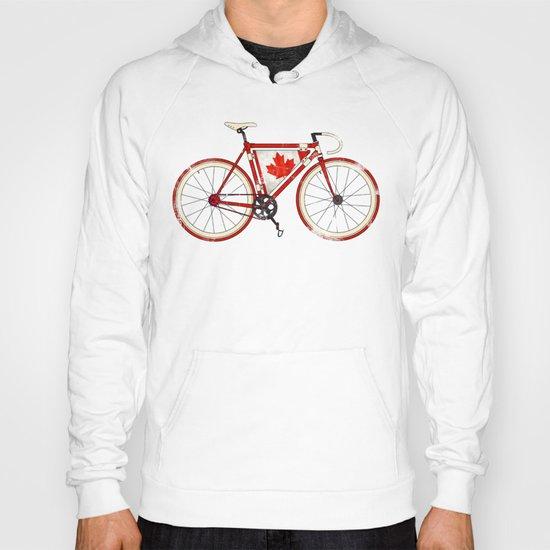 Love Bike, Love Canada Hoody