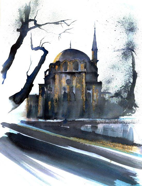 Zeynep Sultan Mosque Istanbul Art Print