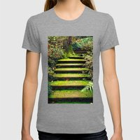 Enchanted Womens Fitted Tee Tri-Grey SMALL
