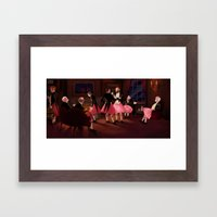 now, really. Framed Art Print
