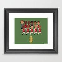 Arsenal Invincibles (squ… Framed Art Print