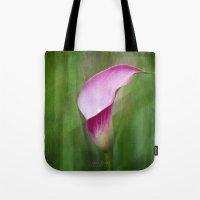 Calla Lily Flow Tote Bag