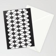 Cat box pattern Stationery Cards
