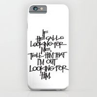 iPhone & iPod Case featuring If He Calls by Eliesa Johnson