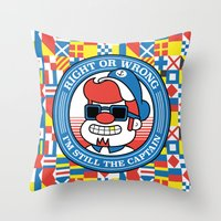 Right Or Wrong, I'm Stil… Throw Pillow