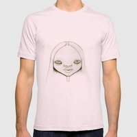 Amadela Mens Fitted Tee Light Pink SMALL