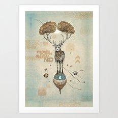 Asteroid Brain Diagnosti… Art Print