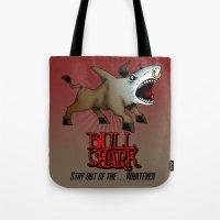 Bull Shark Version 2 Animal Series by RonkyTonk Tote Bag