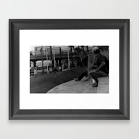 A Day Of Bubbles Framed Art Print