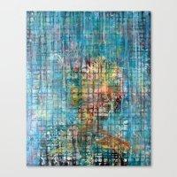 Grid Portrait Canvas Print