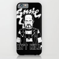 iPhone & iPod Case featuring Smoke Can't Kill Me by Jelot Wisang