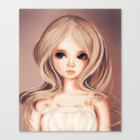 Doll-like Canvas Print