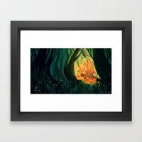 The Candy House Framed Art Print
