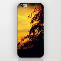 Sky on Fire iPhone & iPod Skin