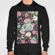 Pastel Preppy Flowers He… Hoody