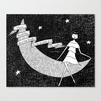 I Have Loved The Stars T… Canvas Print