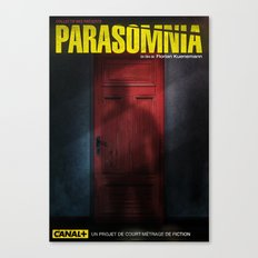 Parasomnia Canvas Print