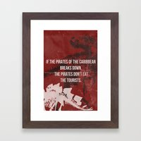 Jurassic Framed Art Print