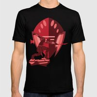 Armour Mens Fitted Tee Black SMALL