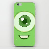 Wasausky pequeño iPhone & iPod Skin