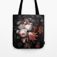 Sacred Flowers Tote Bag