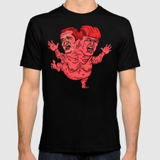 The GOP's 2-Headed Monster Mens Fitted Tee Black SMALL