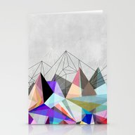 Stationery Cards featuring Colorflash 3 by Mareike Böhmer Grap…