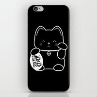Stay Lucky BLK iPhone & iPod Skin