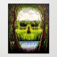 Beckoning From The Other Side Canvas Print