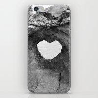 Heart Rock On Maui  iPhone & iPod Skin