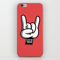 Keep on Rockin iPhone & iPod Skin