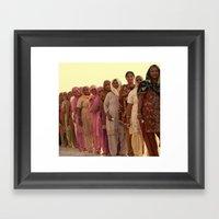 Bright India Framed Art Print