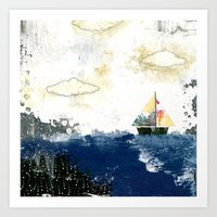 The Sailboat Art Print