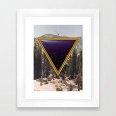Space Frame Framed Art Print