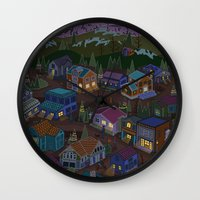 Adventure Town Wall Clock