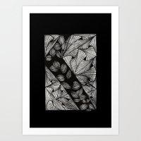 Drawing 3 Art Print